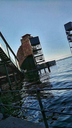 Bregenzer Festspielbühne Bregenzer Festspiele Seebühne Bodensee Bregenz Tribune Bühne Reflection Reflektionen Im Wasser Wasserreflektion Wasser See Seebühne Bregenz