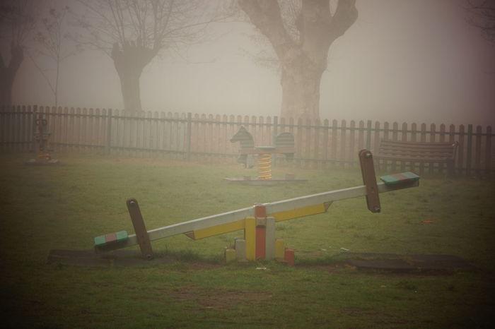 Altalena Dream Alessandria Foggy Morning Foggy Day Bambini  Cittadella Colori Parco
