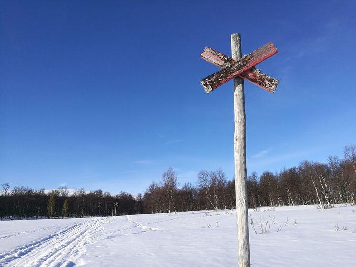 Ski track Ski