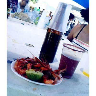 Acapulco Hace 8 Dias playa sol arena bikini muchas nenas cerveza camarones siguemeytesigo likeforlike