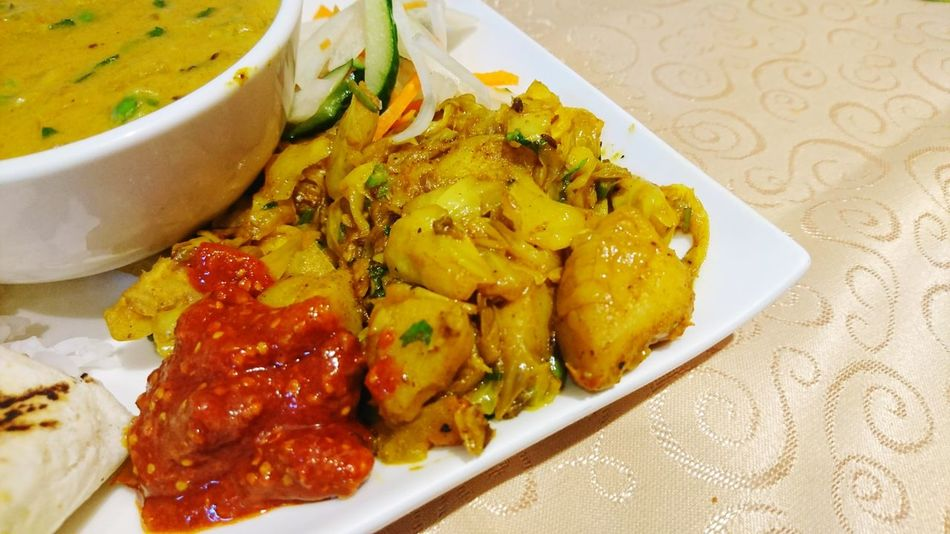 Food Food And Drink Indoors  Ready-to-eat Plate Table Freshness No People Healthy Eating Close-up Day Curry Indian Food Pickle