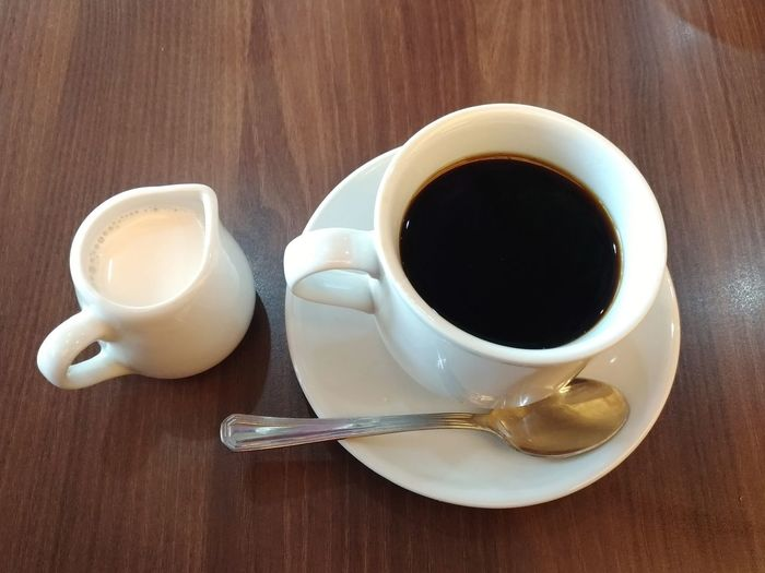 coffee and milk