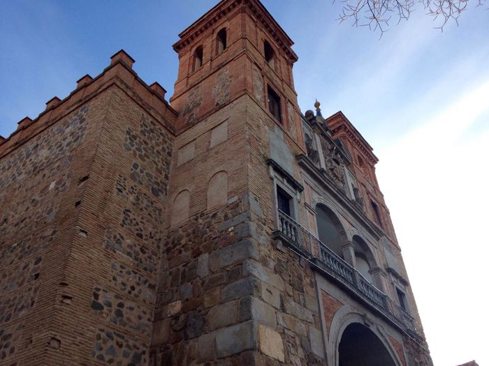 Architecture Low Angle View Building Exterior Built Structure Tower No People Sky Outdoors Clock Tower Day Clock Toledo Spain Toledo