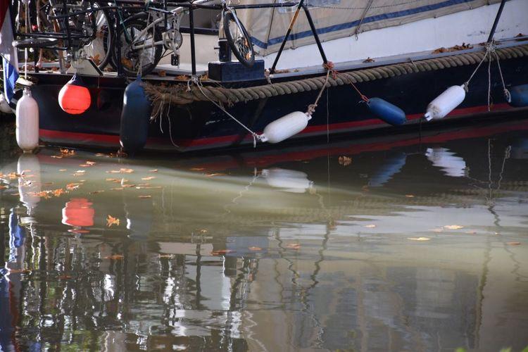 Water Reflections Boats Nature Autumn🍁🍁🍁 Autumn Colors Autumn NIKON D5300 Sunday Mycity