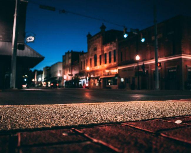 Downtown. Night