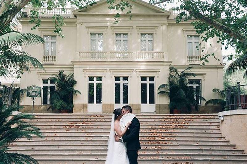 Cintia y Edu Postboda Fincaconcepcion Jardinesconcepcion Malaga Boda Wedding Weddinhphotographer Love Amor Abanico Beso Kiss Simetria Dress Bride Groom Novio Novia Married