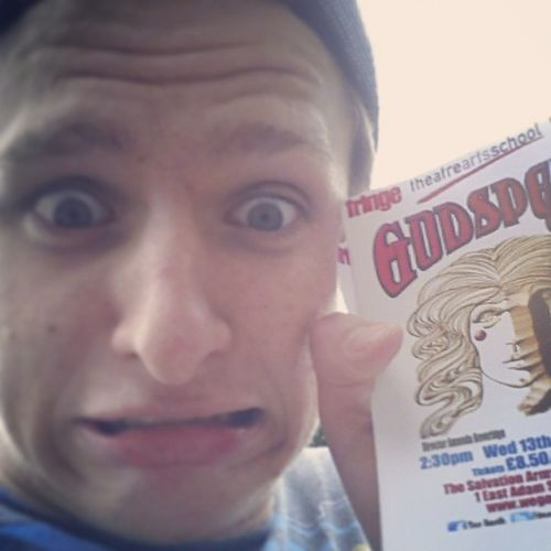 Instacatchup come see godspell!! Please?? Godspell Edfringe Edinburghfringefestival posters