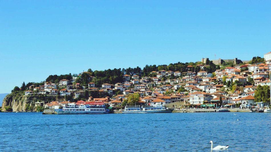 Macedonia Ohridlake Ohrid Architecture Landscape Traveling