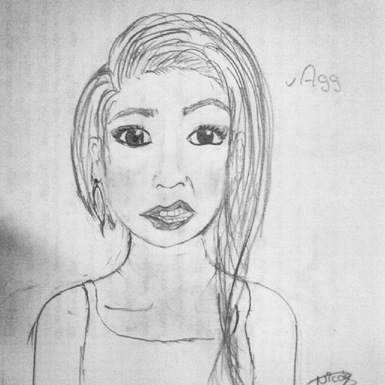 Ehm Oc. Drawing Notperfect Mio LOL Agg Girl Shula