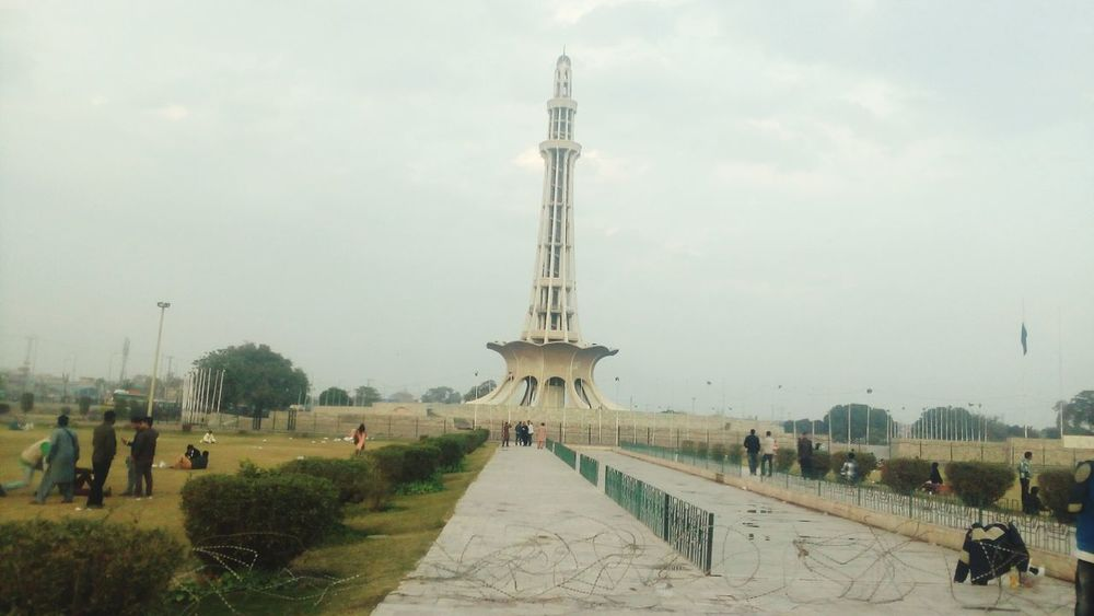 Everything In Its Place Lahore Meenar E Pakistan Beautiful Pakistan Historical Tower 1940 23 March Pakistani Traveller Desi Beautiful ♥ Azadi Chowk EyeEm Best Shots Resolution Day Of Pakistan Resolution Place Park
