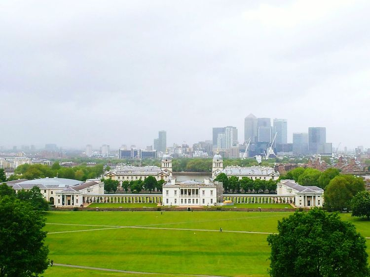 Greenwich Greenwich Park London LONDON❤ City Architecture Sky Cloud - Sky Cityscape Building Exterior No People Outdoors Tree Grass Urban Skyline Nature Day City Travel Tourism Architecture Clock Beauty In Nature Grass Green Color