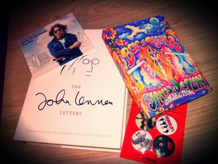 Presents! Taking Photos John Lennon Janis Joplin The Beatles