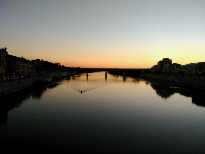 Ebre River, Tortosa. Reflection Sunset Water Beauty In Nature Outdoors Nature Sky Tranquility Landscape No People Day Catalunya Scenics Horizon Over Water EyeEm Nature Lover Tranquil Scene Horizon River