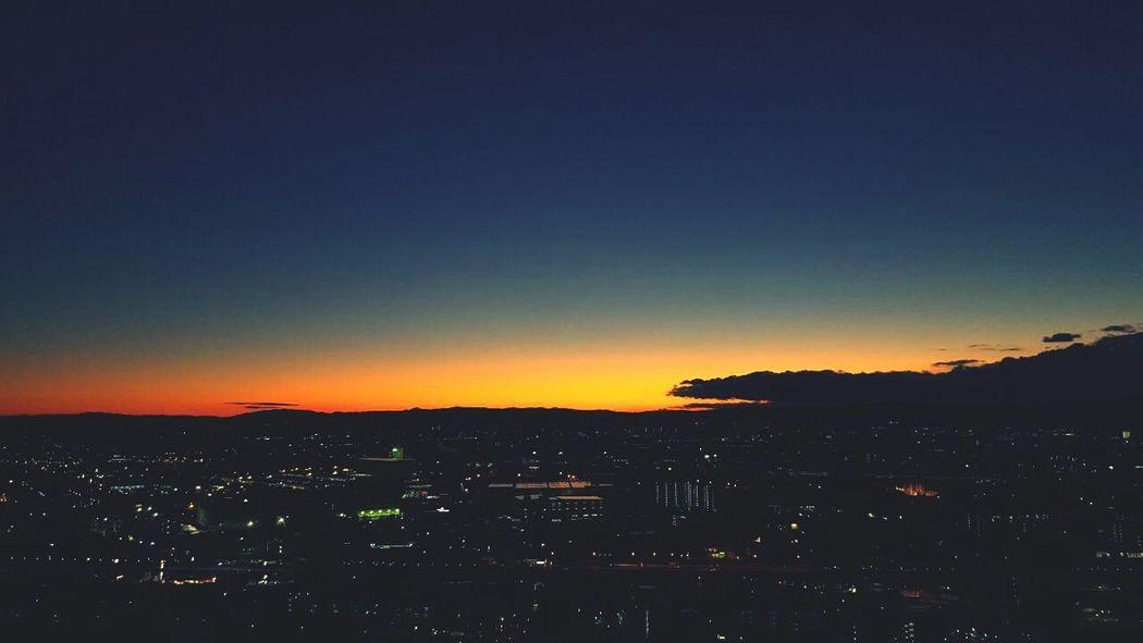 Sunrise Winter Sky
