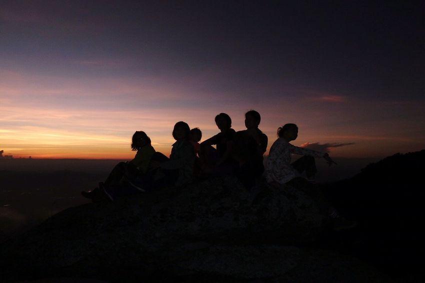 Sukothai Thai Thailand Sunset Shadow And Light Kaoluang Sukothai People Beauty In Nature