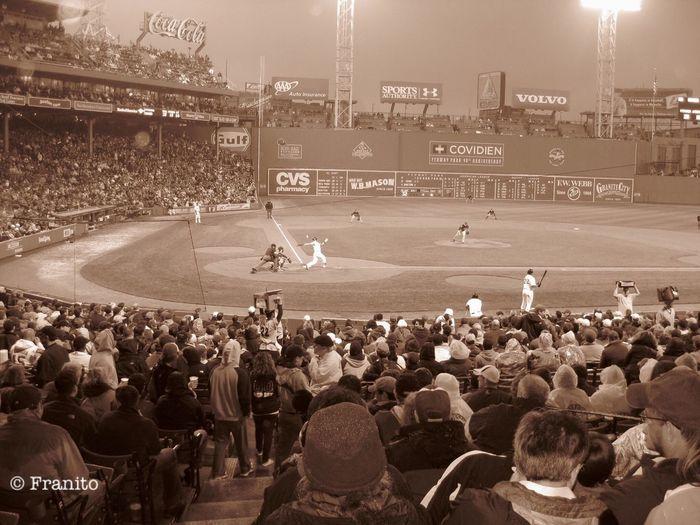 Fenway Park Red Sox Vs Twins