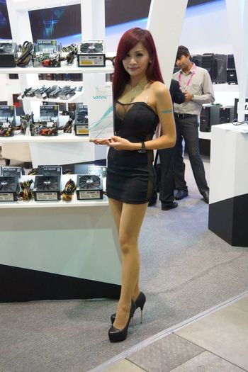 Show Girl Computex Show Computex Show 2013