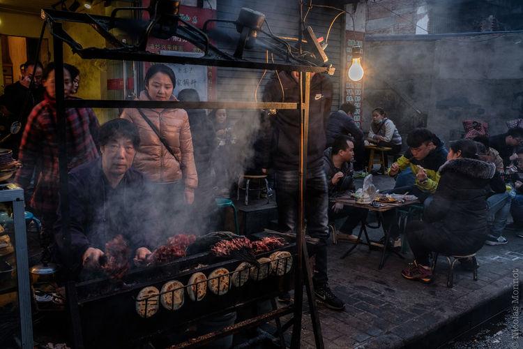 DINNER TIME ASIA China China Photos Chinese Food Food Fuji Fujifilm Muslim Quarter People Real People Shaanxi Shaanxi Province Street Street Photography Streetfood Streetphotography Travel Travelling Travelling Photography X-t2 Xi'an Xi'an China Xi'an Muslim Quarter Xian Xian China