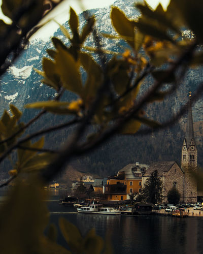 Visiting the most photographed places in the world is always exciting! Hallstatt is an amazing village Village Austria Church Architecture Landscape Lake Lake View Lakeside Quiet Moments Quiet Places Austrian Alps Austrian Alps Austrian Nature Tree Water Nautical Vessel City Branch Cityscape Shadow Reflection Sky Architecture Fall River Tranquil Scene Non-urban Scene Calm