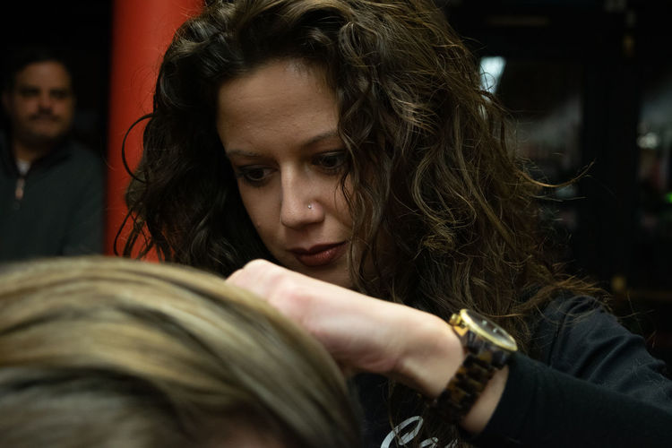 Barbershop shoot. Barber Shop Employee Hair Barber Haircut Men person Salon Stylist