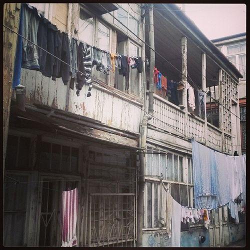 Streetphotography Yard Londry