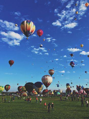 HotAirABQ15 Balloonfiesta  Igersabq ShotoniPhone6s Newmexico Balloons IPhoneography Albuquerque Vscocam