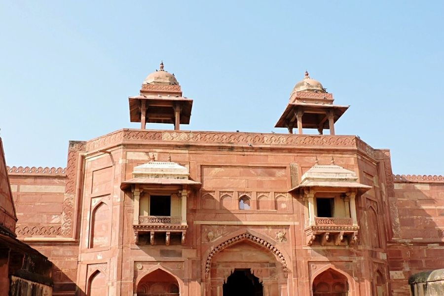 Red Fort Castle Walls Castle Fortress Kingdom_tower Incredible India India Capturing History Palace