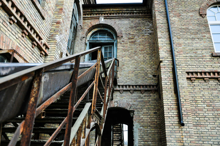 Architecture Building Exterior Staircase Steps And Staircases Low Angle View EyeEmNewHere Silkfactory Steps Outdoors
