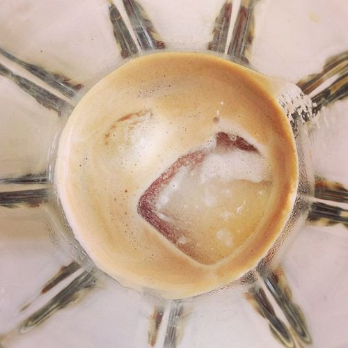Abstract but: Espresso on the rocks #coffeediary Coffeediary