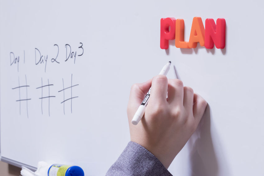 Business Goals Plan Planning Steps Text White Board Classroom Colorful Education Human Body Part Human Hand Learning Multi Colored One Person Postit Postits Professional Strategic Strategy Text White Background Whiteboard Whiteboards Writing