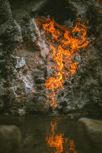 Fair And Water Taiwan Fire - Natural Phenomenon Burning Flame Water Nature Finding New Frontiers