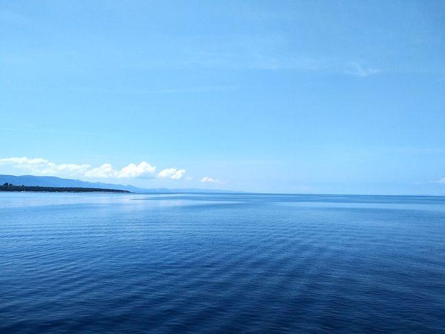 blueee Water Sea Beach Blue Beauty Summer UnderSea Idyllic Low Tide Sky