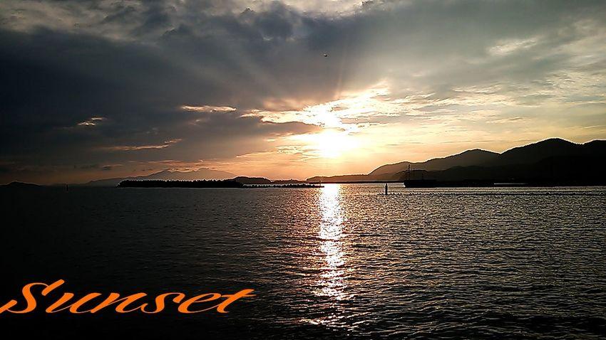 明日~…梅雨入りかの~(^_^;))) Miyazaki Kushima Sunset Relaxing Enjoying Life Yuka  Fresh Air 夕凪 Healing Pray For Kyushu