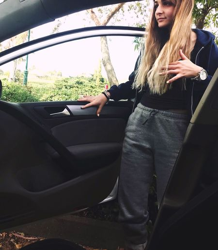 Car Transportation One Person Young Adult Mode Of Transport Land Vehicle Car Interior