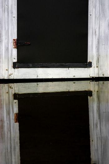 Architecture Built Structure Close-up Day Door Doorway Hinge No People Open Door Outdoors Safety Wood - Material