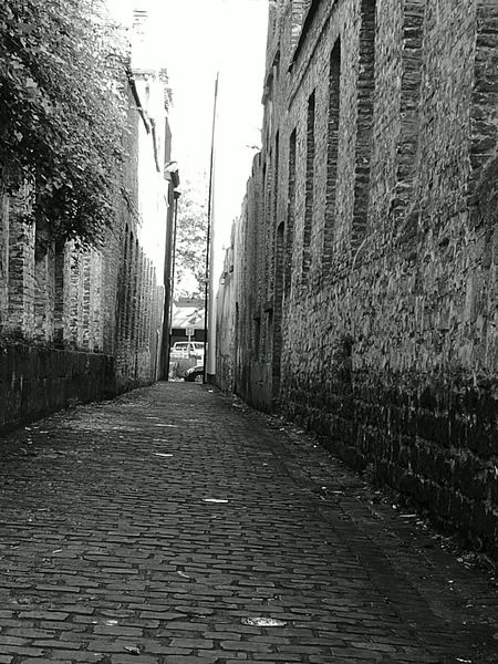 Street Black And White Old Outdoors City