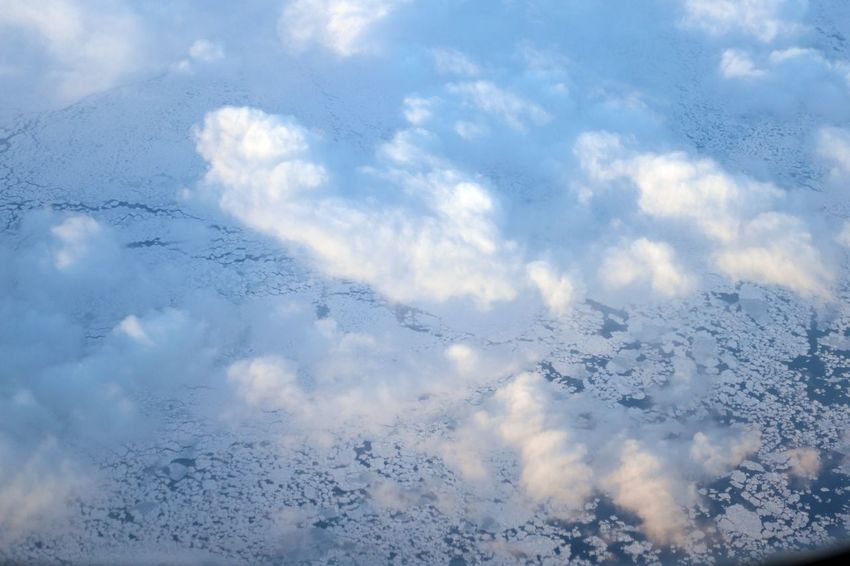 Cloud - Sky Nature No People Winter Day Environment Beauty In Nature Tranquility Cold Temperature Scenics - Nature Tranquil Scene Backgrounds Cloudscape Outdoors Softness Meteorology Newfoundland