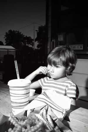 A day in the Life. August 12, 2016 Friend, Nebraska 35mm Camera Americans Blackandwhite Blown Highlights Blownout Camera Work Childhood Eating Elementary Age EyeEm Best Shots Eyeemphoto Flash Photography Food And Drink FUJIFILM X100S Lifestyles Nebraska Off Camera Flash Photo Essay Rural America Selects Shoot Your Life Small Town Stories Storytelling Summertime The United States