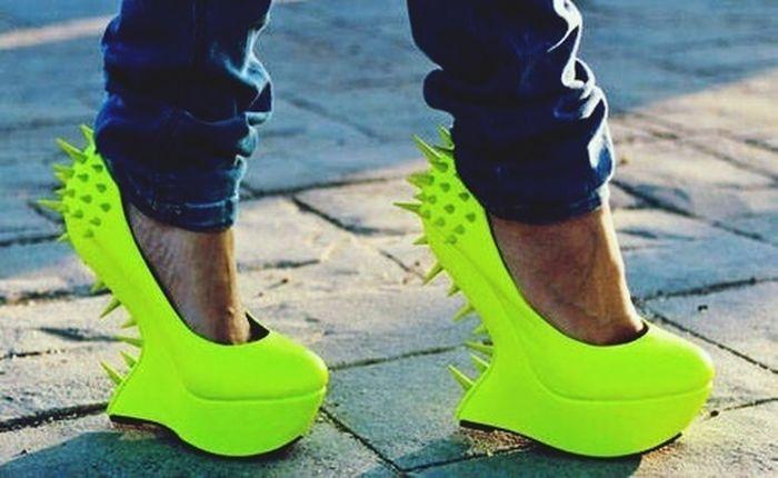 Feet Fashion High Fluo