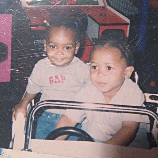 Thugs me on left Chuckie Cheese Gap Cousins