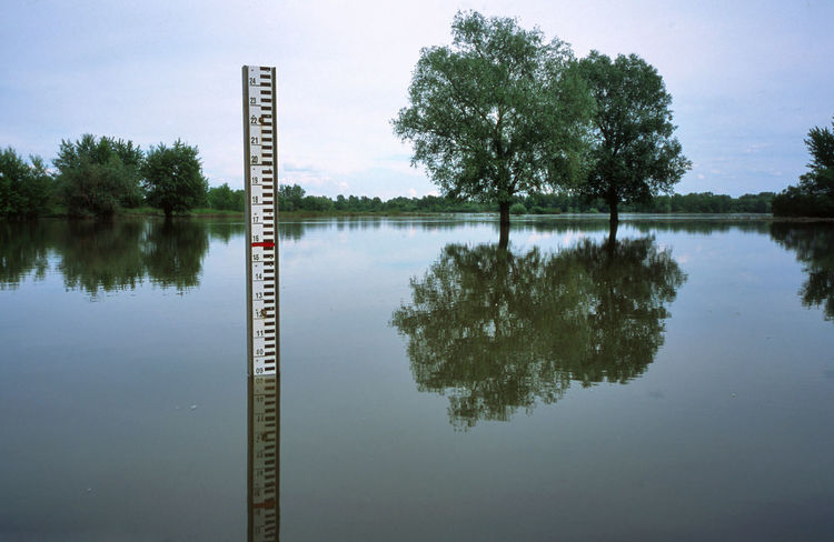 Diminishing Perspective Flood Inundation Lake Lubelskie Lubelszczyzna Measure Measurement Measurement Point Nature No People Poland Reflection River Scenics Standing Water Tall Water Waterfront Wisla Wisła Wisła River