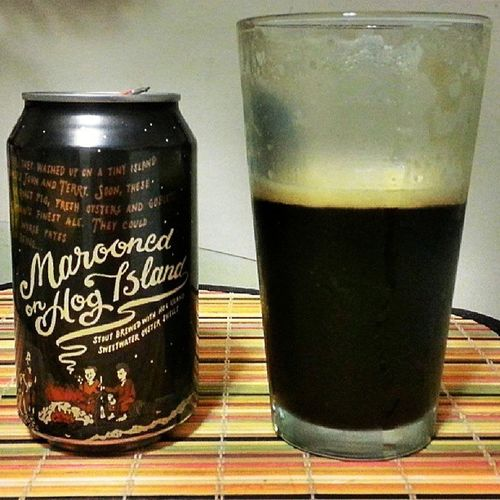 168/365 Marooned HogIsland Oysterstout