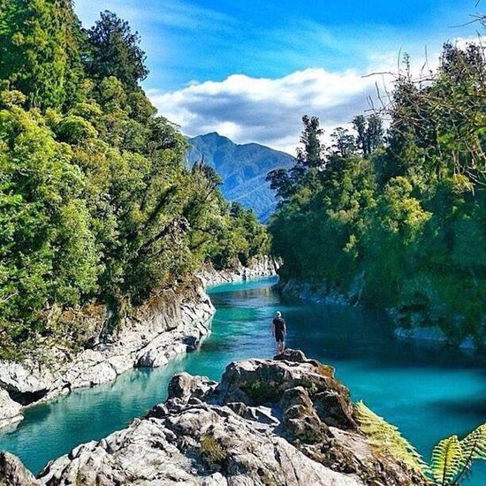Hokitika Gorge in the West Coast 💙💙❤️❤️ Water Blue Picture You Follow My Eye Em 💙 I Follow Back Real Picture First Eyeem Photo Hello World ❤ I Love Travel Cool Picture Amazing View Nice Places  Travel