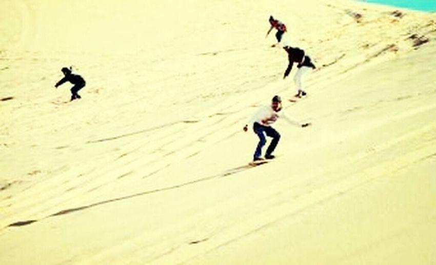 التزلج على الرمال تولعت بك