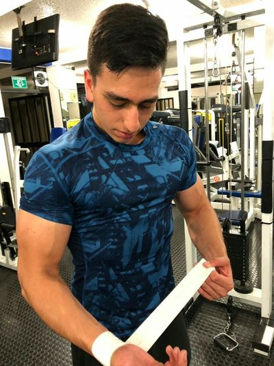 Instagram: Galvez260 Healthy Eating Healthy Lifestyle Healthy Eatclean Body & Fitness #bodybuilding Rear View Aesthetics Gym Workout Working