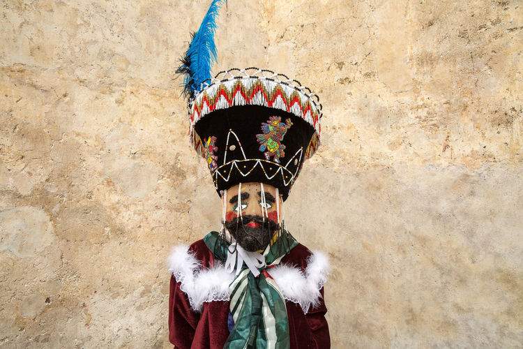 Chinelo Culture And Tradition Culture Of Mexico Dancer Etnic Front View Mask Masks Mexico Mexicolors Portrait Ritual Rituals & Cultural Standing Tepoztlan