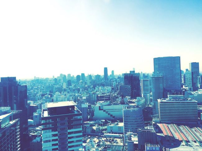 Hankyu Citiscape, Japan From The Rooftop