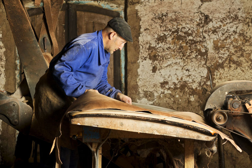 The last traditional tanner in Leon, Spain , Genaro Gonzalez Ancient Craft Antique Craft Craftman Leather Leather Tannery Machinery Mud House Old House Old Houses Portrait Tanner Tannery The Portraitist - 2017 EyeEm Awards Traditional Vintage Photo Vintage Photography