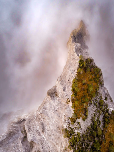 Nature Power In Nature Outdoors Rock - Object Beauty In Nature Landscape Sand No People Mountain Day Sky Hikingadventures Aerialphotography Scenics Lost In The Landscape Aerial View Drone  Tree Fog Mist Clouds Canyon Perspectives On Nature