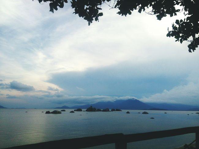 Happy Hour Enjoying The Sunset Sea
